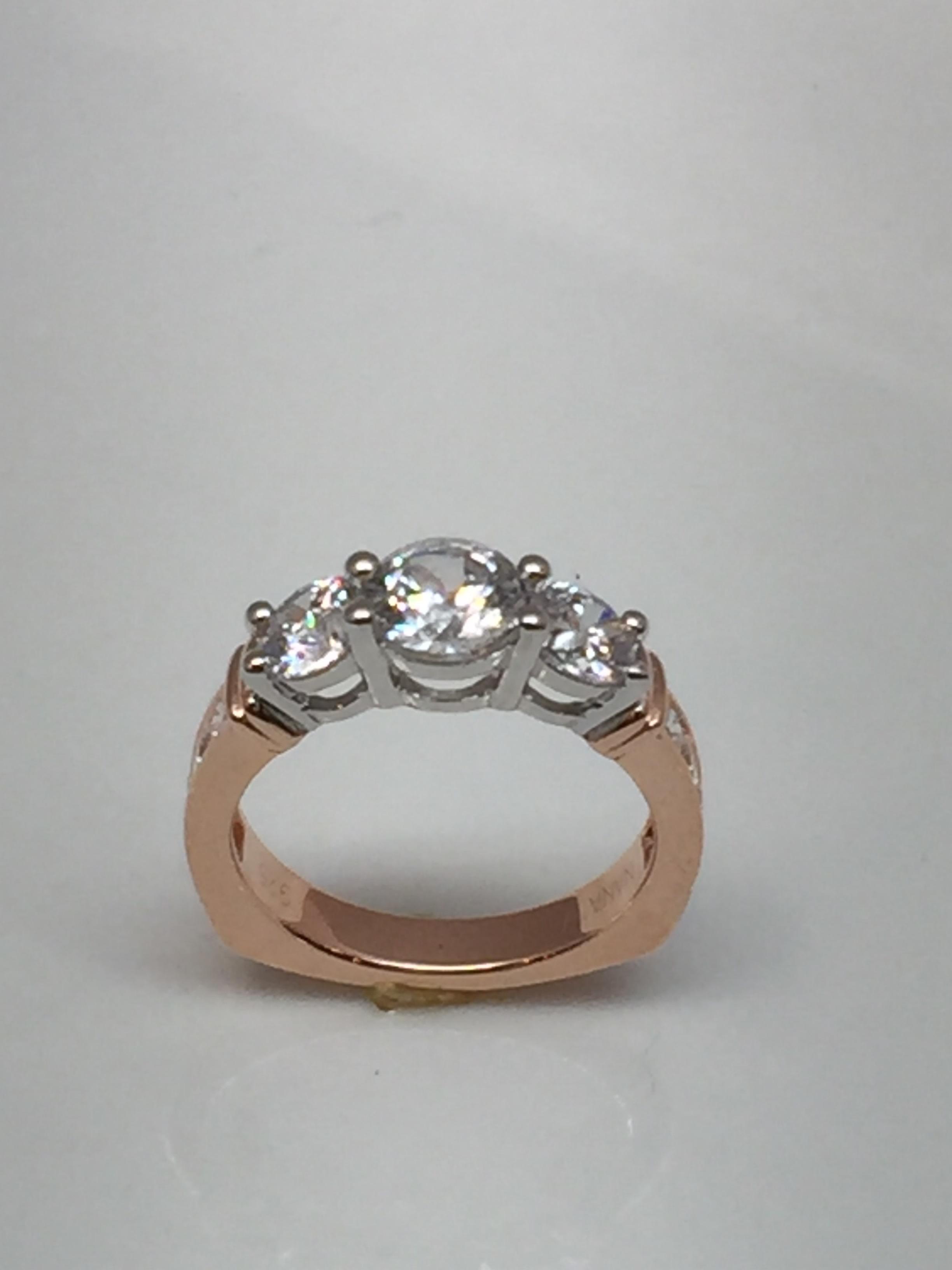 Rings Engagement Fashion Rings Bands Nana Three