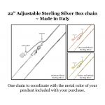 Customizable Halo Birthstone Solitaire Necklace, 925 Sterling Silver w/Swarovski Zirconia, Hypoallergenic