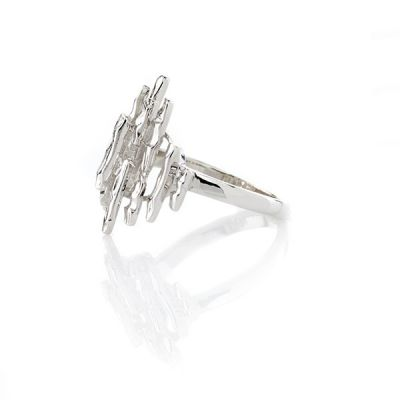 """Sterling Silver """"The Large Kareen"""" style Mary Kay ring"""