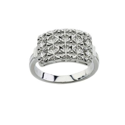 "Sterling Silver ""The Princess"" Style Mary Kay Ring"