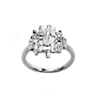 "Sterling Silver ""The Small Kareen"" style Mary Kay ring"