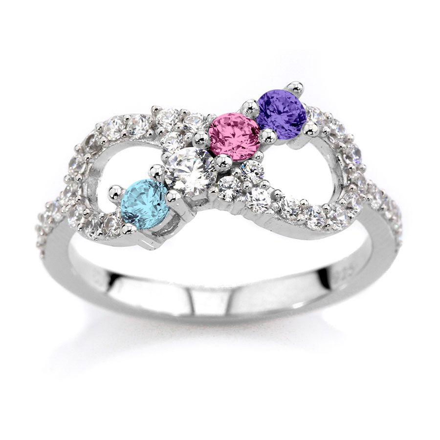 Mothers Day Rings Birthstones Walmart